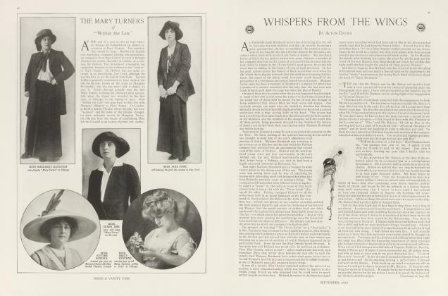 Article Preview: WHISPERS FROM THE WINGS, September 1913 | Vanity Fair