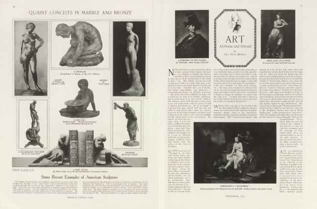 Article Preview: ART At Home and Abroad, September 1913 | Vanity Fair
