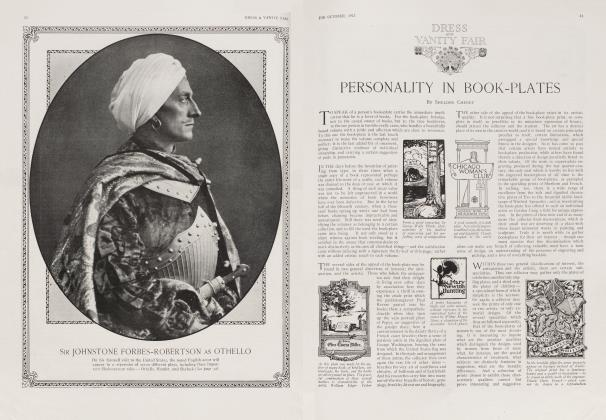 PERSONALITY IN BOOK-PLATES