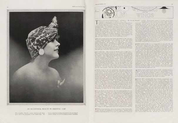 Article Preview: WHISPERS from the WINGS, October 1913 1913 | Vanity Fair
