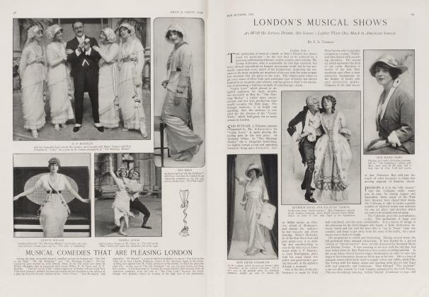 Article Preview: LONDON'S MUSICAL SHOWS, October 1913 1913 | Vanity Fair