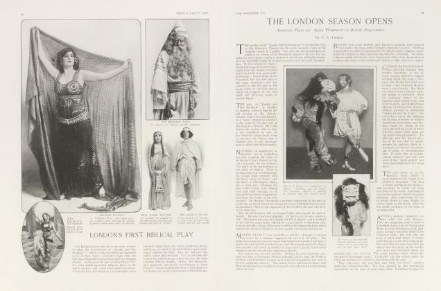 Article Preview: THE LONDON SEASON OPENS, November 1913 1913 | Vanity Fair