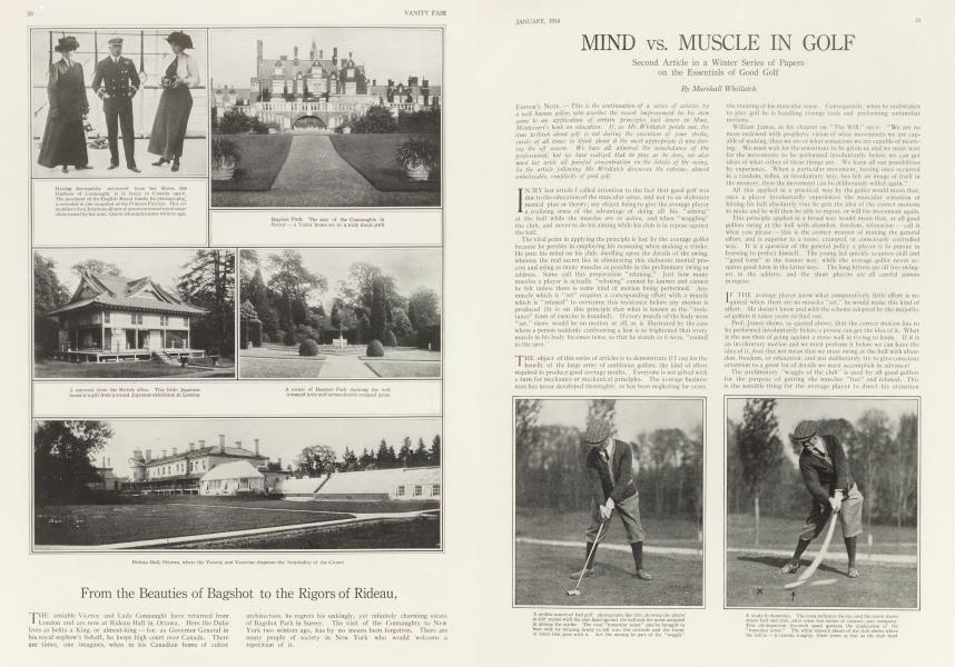 MIND vs. MUSCLE IN GOLF