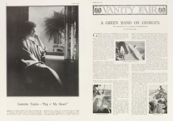 A GREEN HAND ON GEORGE'S