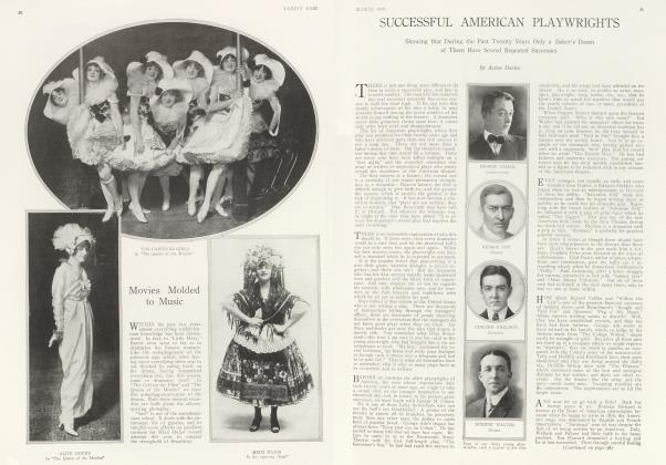 Article Preview: SUCCESSFUL AMERICAN PLAYWRIGHTS, March 1914 1914 | Vanity Fair