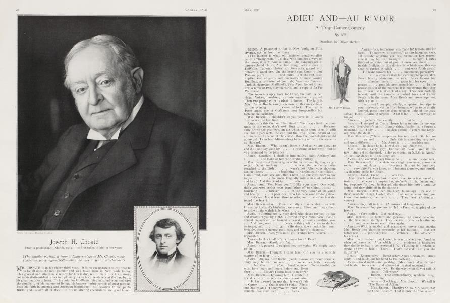 ADIEU AND—AU R'VOIR