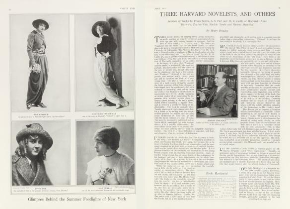Article Preview: THREE HARVARD NOVELISTS, AND OTHERS, June 1914 1914 | Vanity Fair