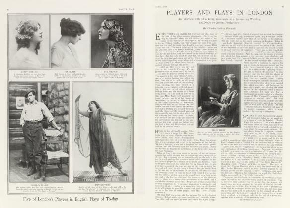 PLAYERS AND PLAYS IN LONDON
