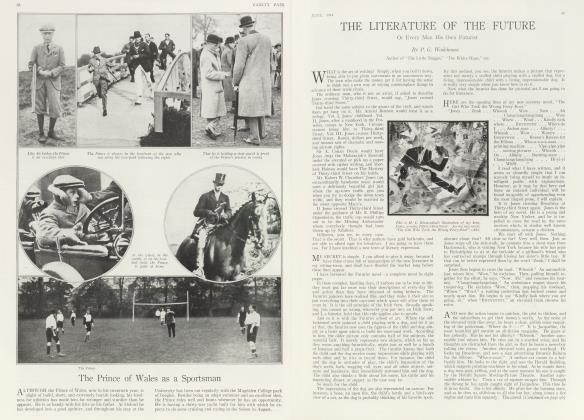 Article Preview: THE LITERATURE OF THE FUTURE, June 1914 1914 | Vanity Fair