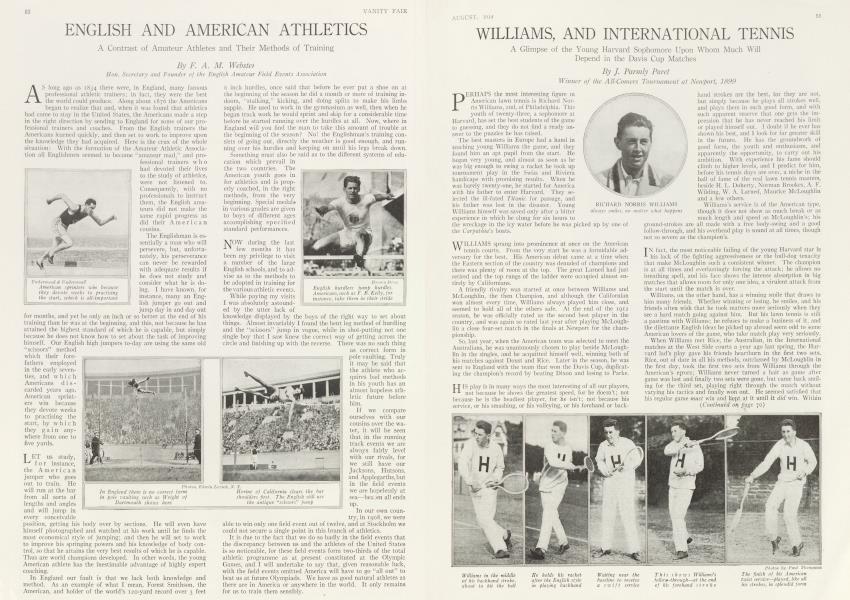 WILLIAMS, AND INTERNATIONAL TENNIS