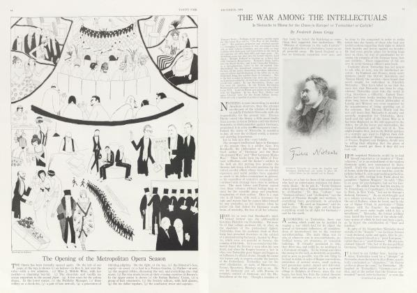 Article Preview: THE WAR AMONG THE INTELLECTUALS, December 1914 | Vanity Fair