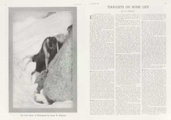 Article Preview: THOUGHTS ON HOME LIFE, December 1914 | Vanity Fair