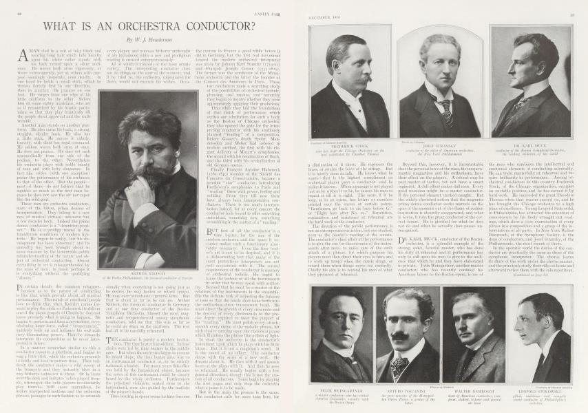 WHAT IS AN ORCHESTRA CONDUCTOR?