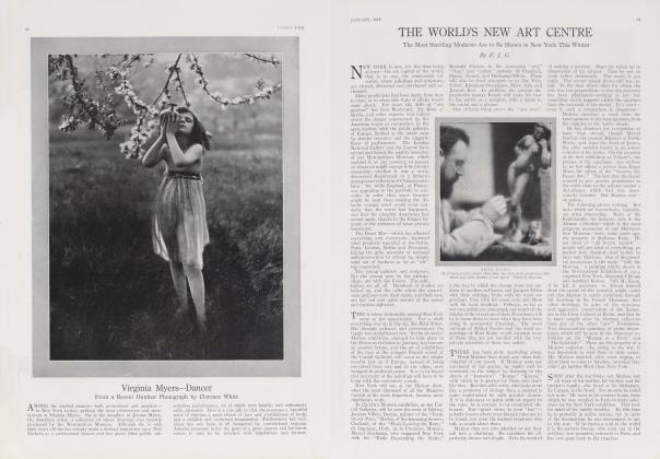 Article Preview: THE WORLD'S NEW ART CENTRE, January 1915 1915 | Vanity Fair