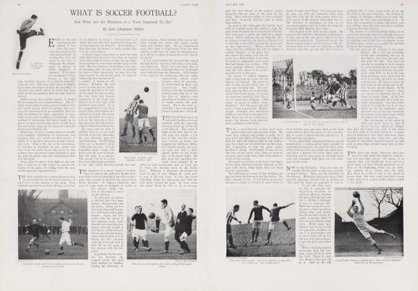 WHAT IS SOCCER FOOTBALL?