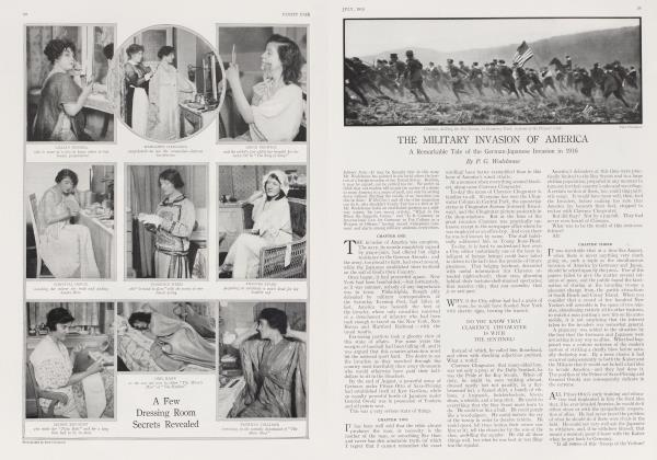 Article Preview: THE MILITARY INVASION OF AMERICA, July 1915 1915 | Vanity Fair
