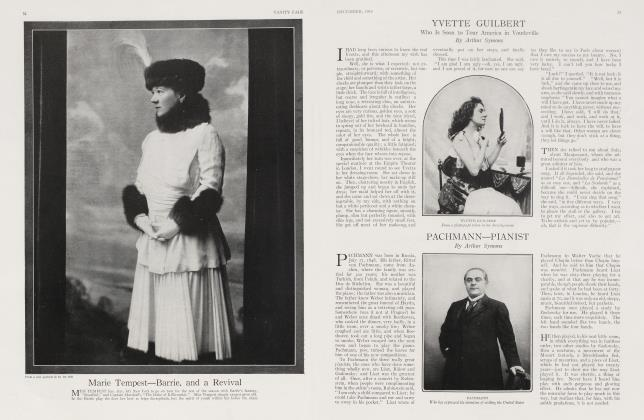 Article Preview: YVETTE GUILBERT, December 1915 1915 | Vanity Fair