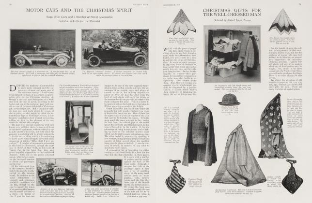 MOTOR CARS AND THE CHRISTMAS SPIRIT