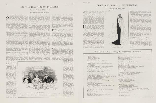 Article Preview: WOMEN: A Hate Song, August 1916 1916   Vanity Fair