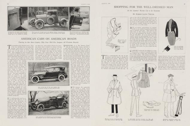 Article Preview: AMERICAN CARS ON AMERICAN ROADS, August 1916 1916 | Vanity Fair