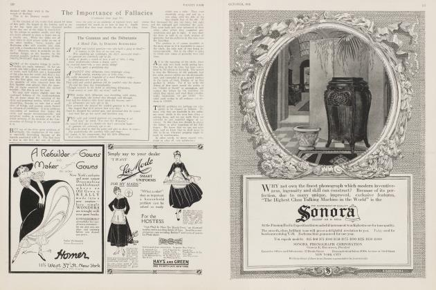 Article Preview: The Gunman and the Débutante, October 1916 1916   Vanity Fair