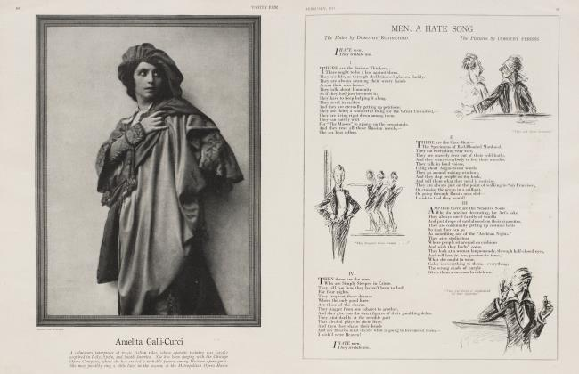 Article Preview: MEN: A HATE SONG, February 1917 1917   Vanity Fair