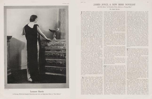 JAMES JOYCE, A NEW IRISH NOVELIST