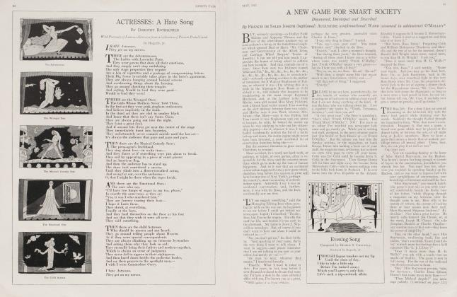 Article Preview: ACTRESSES: A Hate Song, May 1917 1917   Vanity Fair