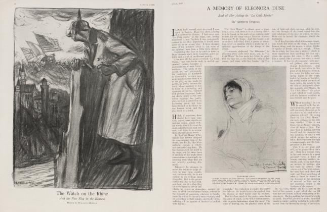 Article Preview: A MEMORY OF ELEONORA DUSE, July 1917 1917 | Vanity Fair