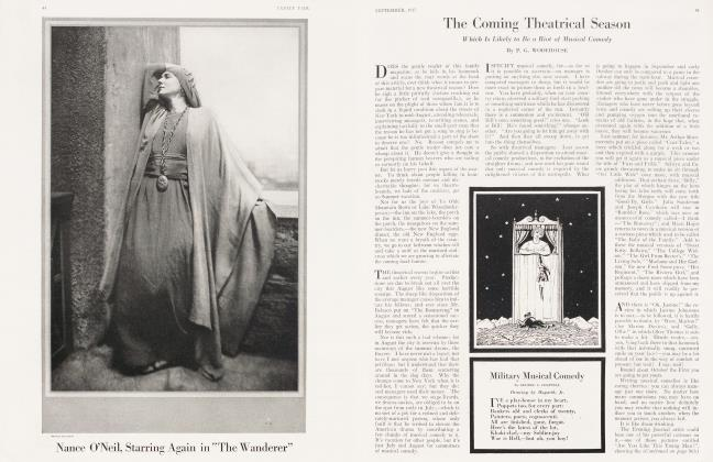 Article Preview: The Coming Theatrical Season, September 1917 1917 | Vanity Fair