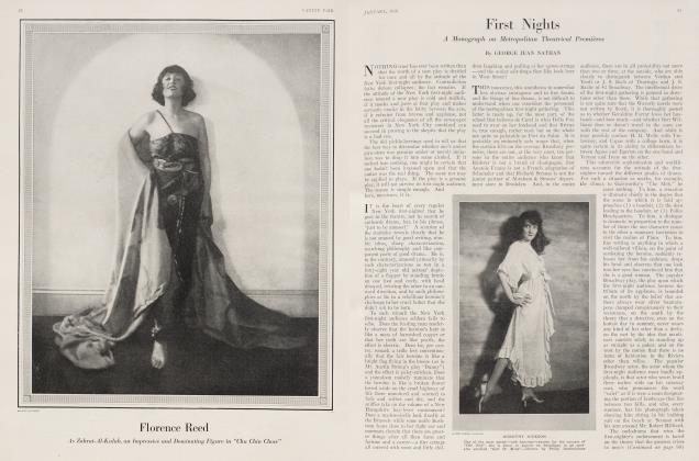 Article Preview: First Nights, January 1918 1918 | Vanity Fair