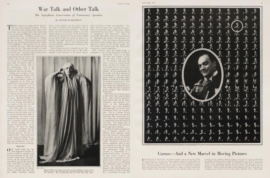 War Talk and Other Talk