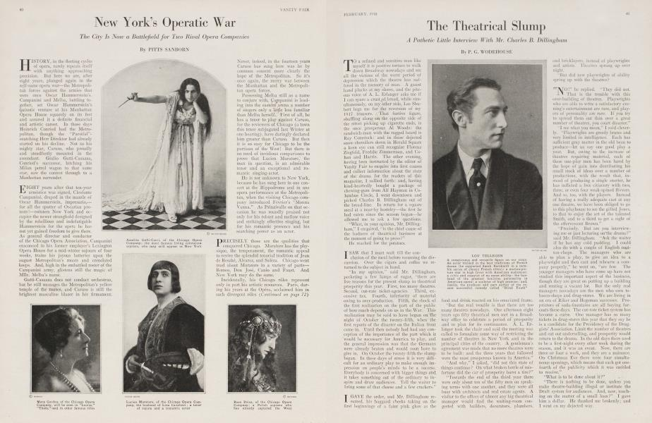 New York's Operatic War