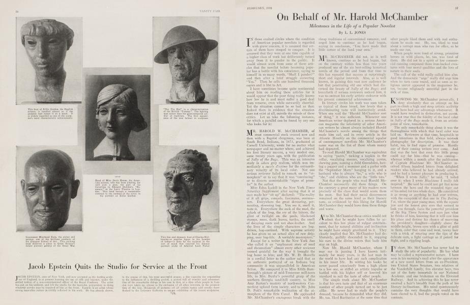 On Behalf of Mr. Harold McChamber