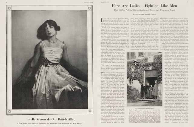 Article Preview: Here Are Ladies—Fighting Like Men, March 1918 1918 | Vanity Fair