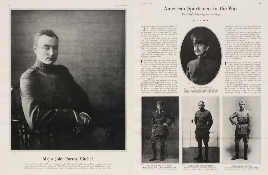 American Sportsmen in the War