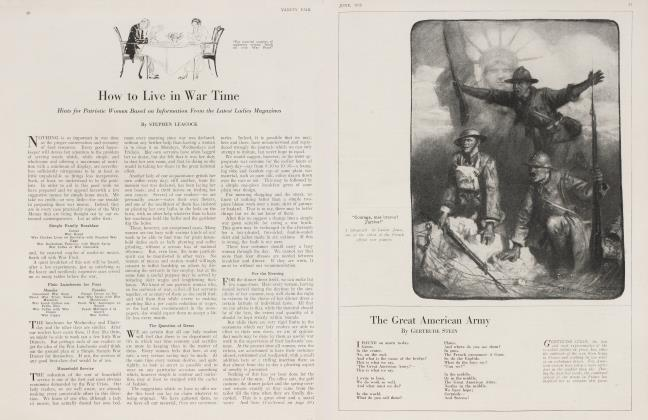 Article Preview: The Great American Army, June 1918 1918 | Vanity Fair