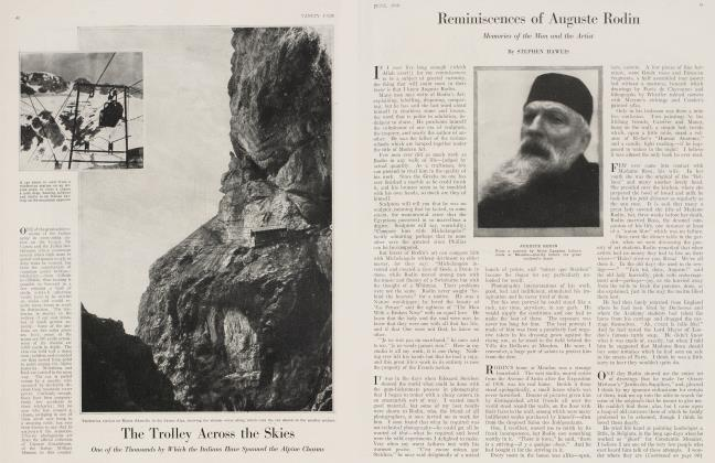 Article Preview: Reminiscences of Auguste Rodin, June 1918 1918 | Vanity Fair