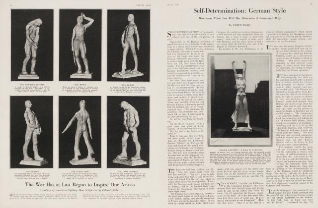 Self-Determination: German Style