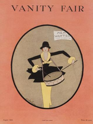 Cover for the August 1918 issue