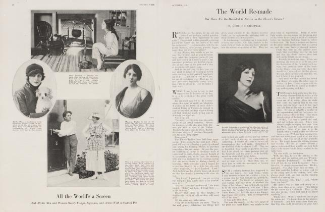 Article Preview: The World Re-made, October 1918 1918 | Vanity Fair