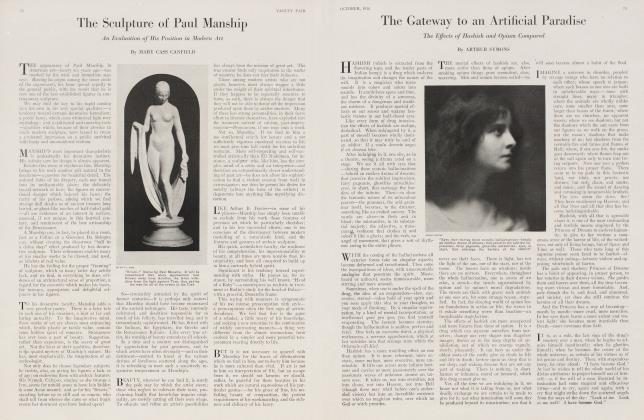 Article Preview: The Gateway to an Artificial Paradise, October 1918 1918 | Vanity Fair
