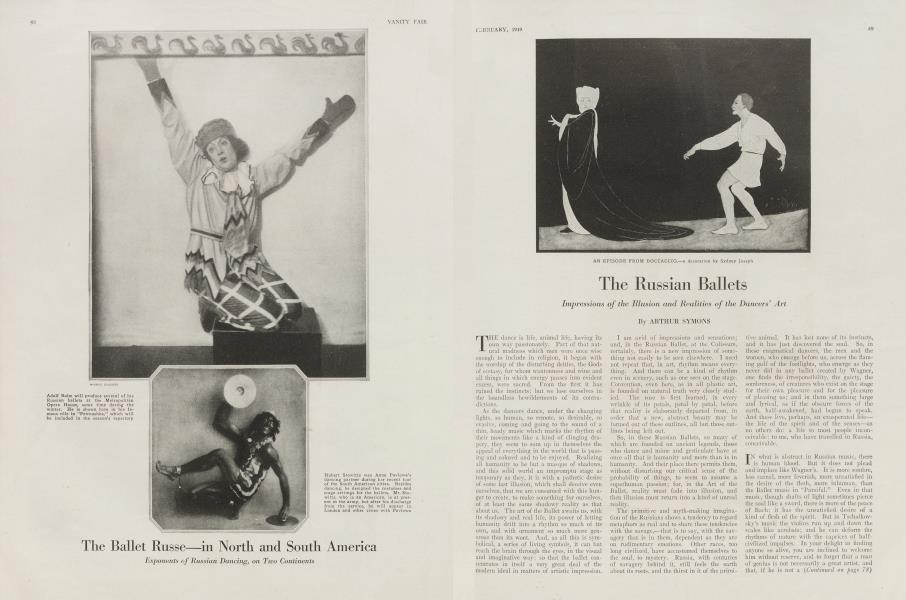 The Russian Ballets