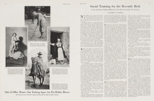 Article Preview: Social Training for the Recently Rich, July 1919 1919 | Vanity Fair