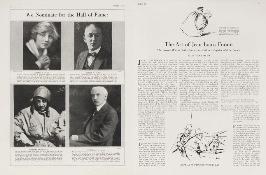The Art of Jean Louis Forain