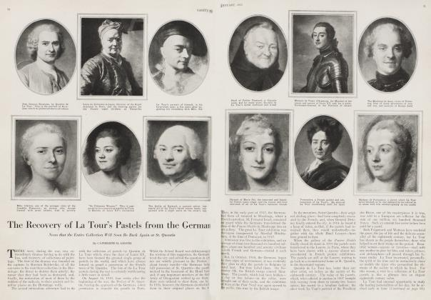 Article Preview: The Recovery of La Tour's Pastels from the German, January 1920   Vanity Fair