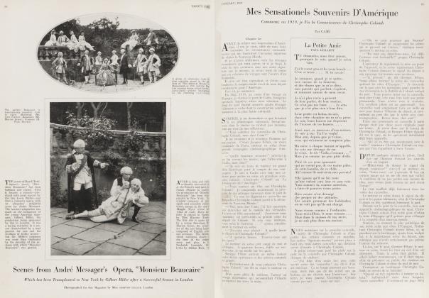 Article Preview: Mes Sensationels Souvenirs D'Amérique, January 1920   Vanity Fair