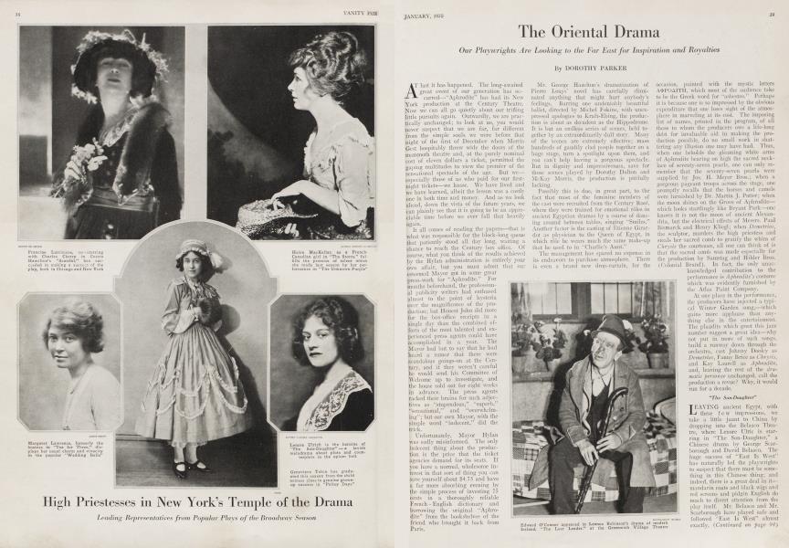 The Oriental Drama