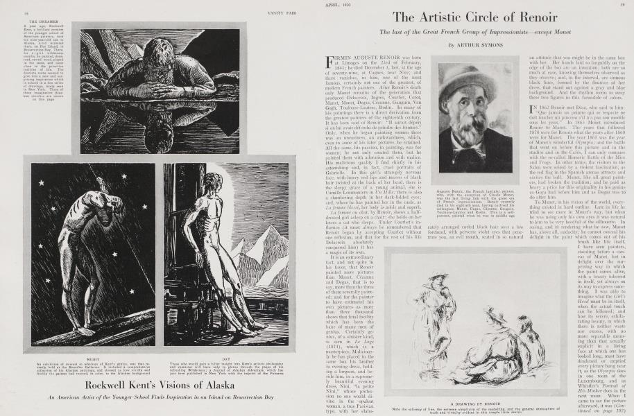 The Artistic Circle of Renoir