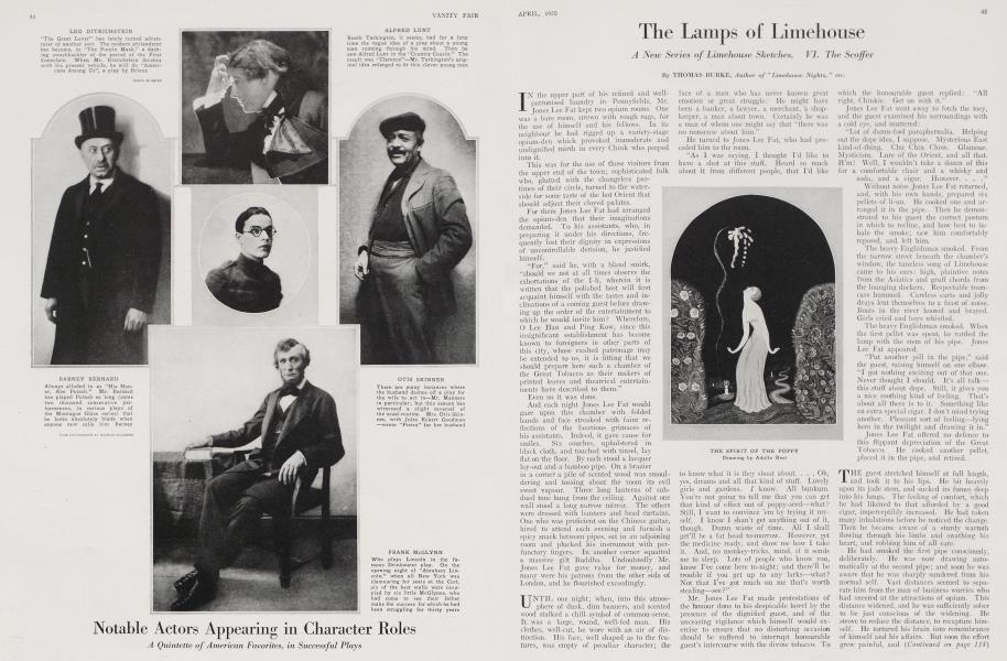 The Lamps of Limehouse